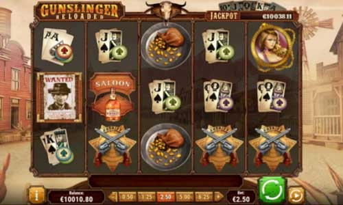 Gunslinger Reloaded Free Spins Bonus