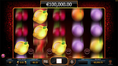 Re-spins med multiplikator i Joker Millions